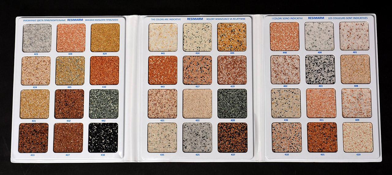 мозаїчна штукатурка палітра