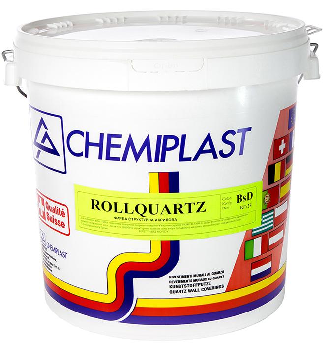 структурна фарба для фасадів ROLLQUARTZ